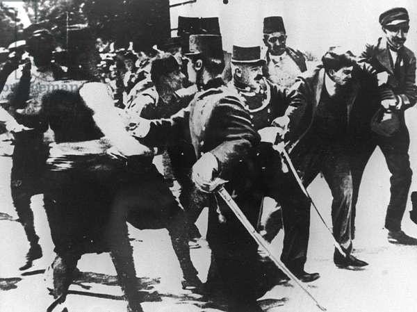 Arrest of Gavrilo Princip