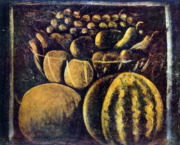 Still life with fruit 1900