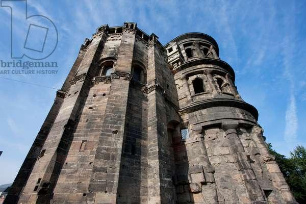 Porta Nigra Roman Gateway, Trier, Rhineland-Palatinate, Germany (photo)