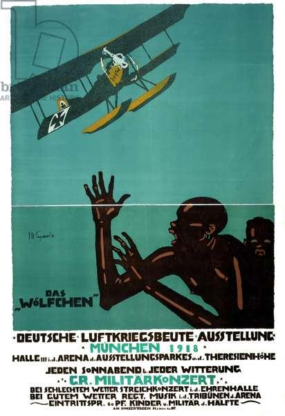 First World War exhibition poster.