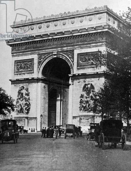 Photographic print of Arc de Triomphe