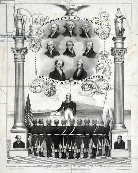 Independence declared 1776