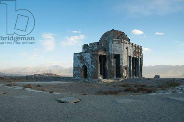 Mausoleum of King Mohammad Nadir Shah on the Tapa Maranjan Ridge in Kabul, Afghanistan (photo)