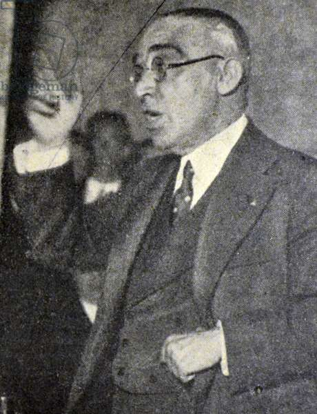 Spanish civil war: José Martínez de Velasco (1875–1936), founder and leader of the Spanish Agrarian Party, minister of several departments during the Second Republic and mayor of Madrid