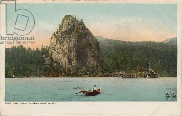Castle Rock, Columbia River, Oregon
