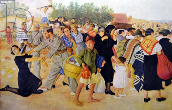 Spanish Civil War: civilians are terrorised while fleeing from communist republican forces