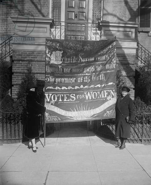 American Suffragettes, 1914