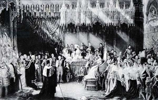 The coronation of Queen Victoria, 1838