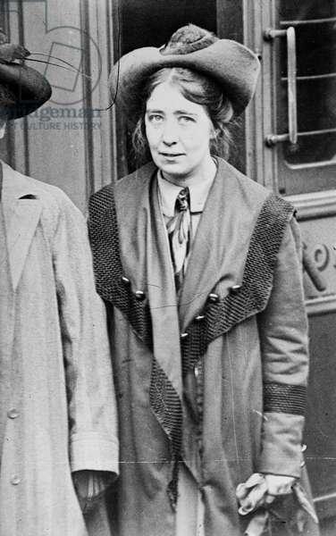Sylvia Pankhurst, 1910