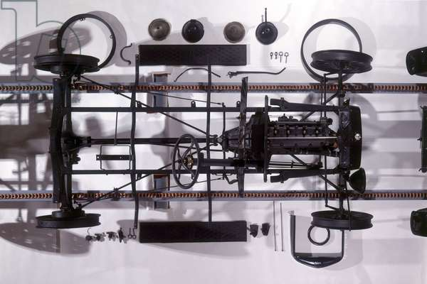 Components of Ford Model T