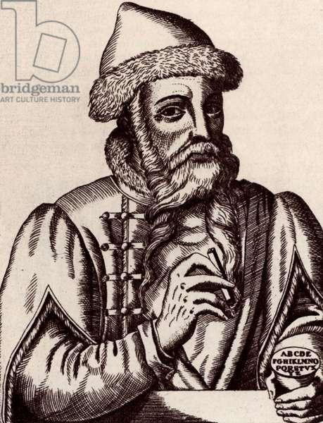 Johann Gensfleisch Gutenberg (1400-1468)