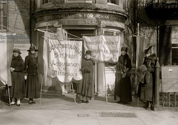 Scandinavian Woman's Suffrage Association of Minnesota 1913 (photo)