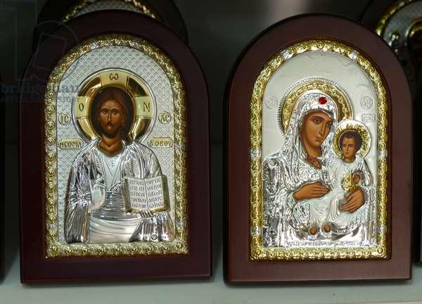 Greek Orthodox, Christian icons, Palestine