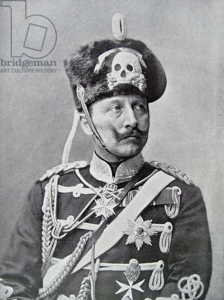 Wilhelm II or William II, 1914