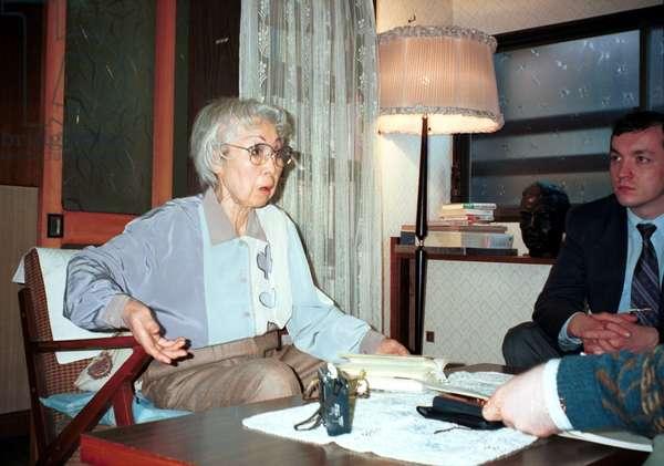 Japan, Ishll Hanako, the Japanese Wife of Soviet Intelligence Agent Richard Sorge.