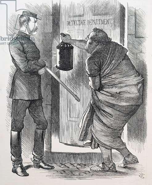 Cartoon by John Tenniel