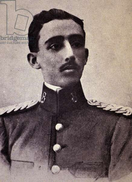 The young General Franco