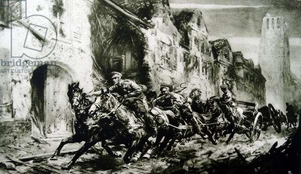 Royal horse artillery, 1915