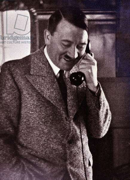 Adolf Hitler 1889-1945. German politician and the leader of the Nazi Party