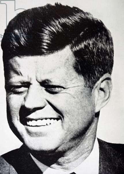Former President John F. Kennedy, 1950