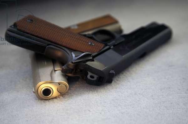 Colt 9Mm Commander And .38 - Super Combat Commander Handguns