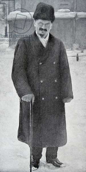 Leon Trotsky of Russia, 1918