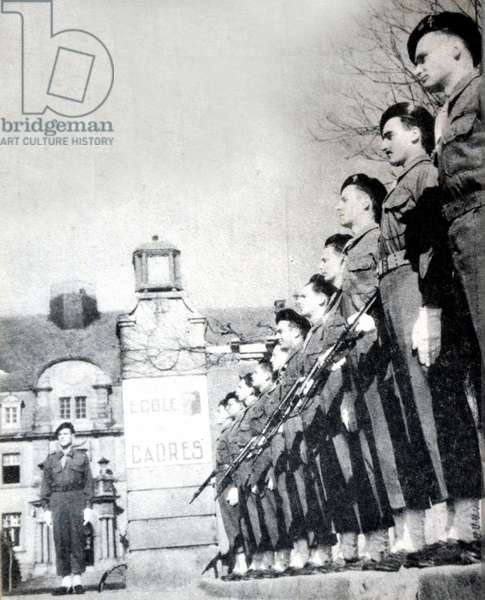 World war Two: Free French army a rouffach