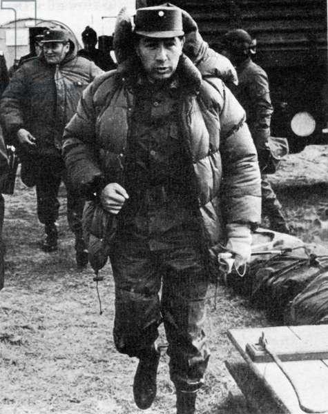 Falklands War-Argentina General Mario B