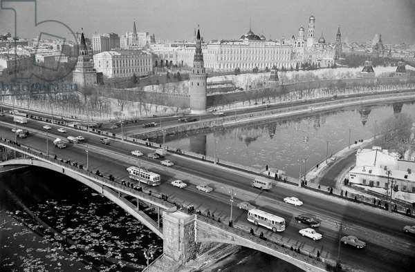 The Bolshoi Kamenny Bridge In Moscow