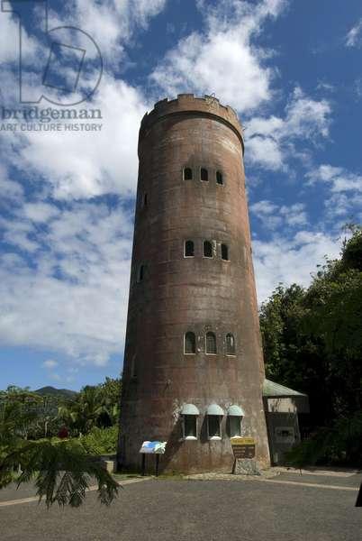 Puerto Rico, El Yunque Rainforest, Yokahu Tower, lookout tower