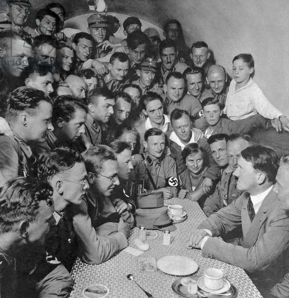 Hitler meets with Nazi Youth c.1930