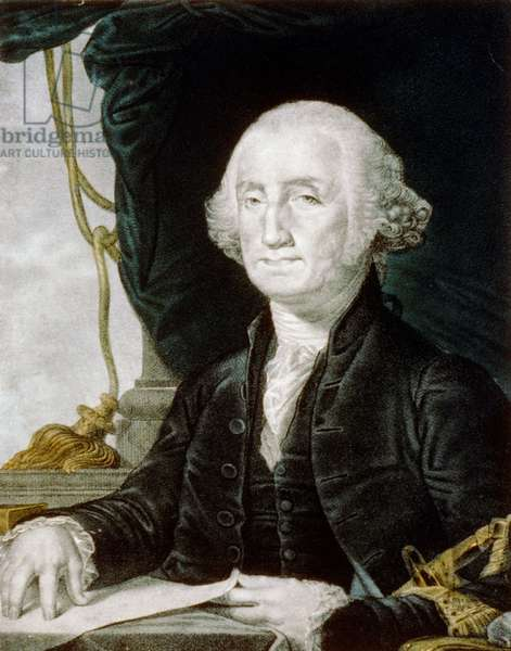 George Washington, 1842