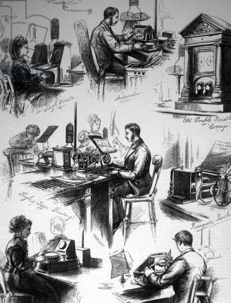 Central Telegraph Establishment, 1850