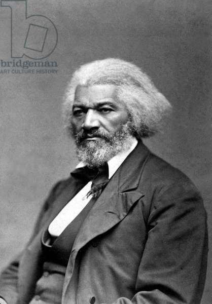 Frederick Douglass (c1818-1895,born Frederick Augustus Washing Bailey, a slave), c1879. African American abolitionist, reformer, champion of women's suffrage and believer in the equality of all citizens of the United States.