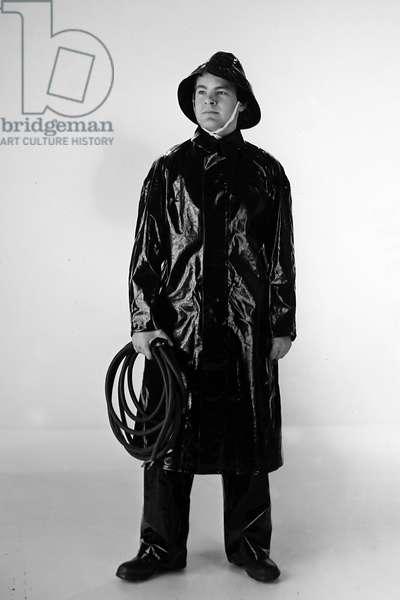 PVC Waterproof suit, 1950