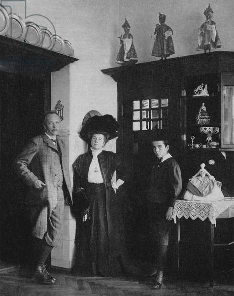 Richard Strauss and his family
