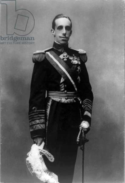 King Alfonso XIII of Spain, 1913 Oct. 13.
