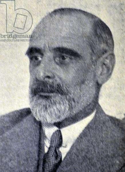 Spanish civil war : Don Francisco de Asis Cambo y Batlle
