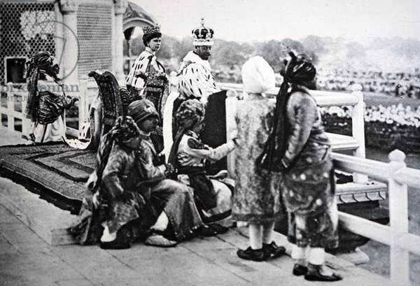 King George V and Mary of Teck after the King's coronation, 1935