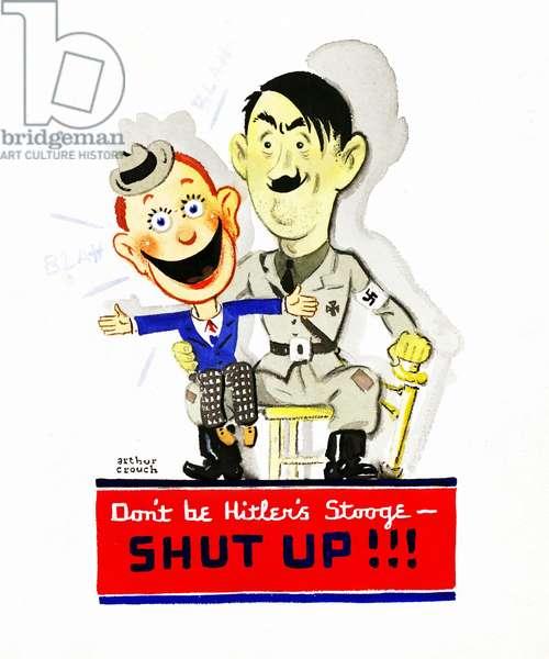 World War Two American Propaganda Poster