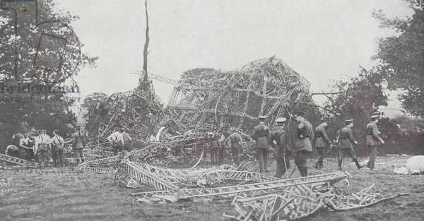 Debris of Zeppelin L-32
