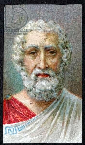 HOMER - 8th century BC Greek epic poet.