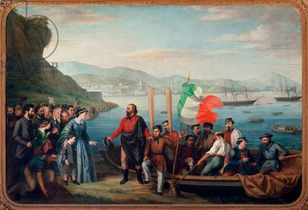 The Boarding of Giuseppe Garibaldi at Quarto, May 5, 1860, Expedition of the Thousand