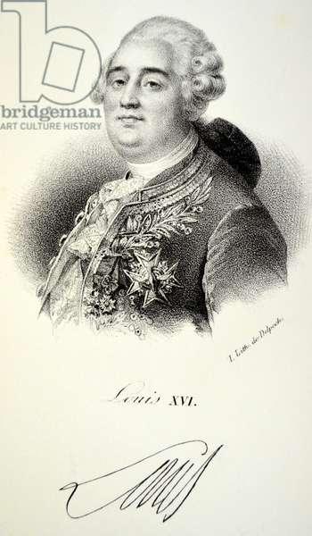 Louis XVI, 1840 (litho)