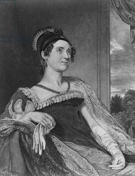 Mrs John Quincy Adams, 1852