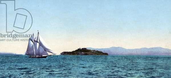 Alcatraz fort