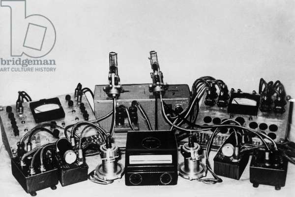Ionized and Magnetic Manometers Prior to Installation on the Soviet Sputnik 3 Satellite, 1958.