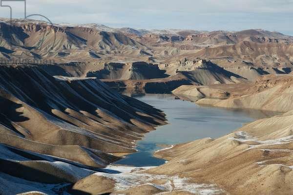 Band-I-Zulfikar (Dam of the Sword of Ali), Band-I-Amir, Bamian Province, Afghanistan (photo)