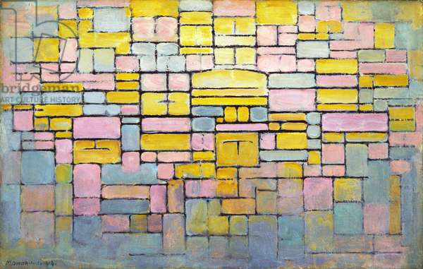Tableau no. 2 / Composition no. V, 1914 (oil on canvas)