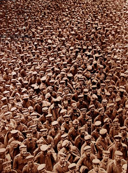 German prisoners of war, 1915